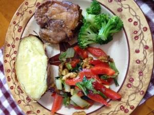 Cardamom Chicken Dinner